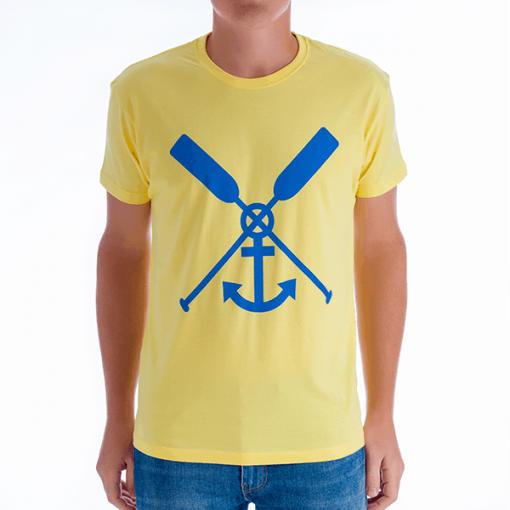 Camiseta Sagone Amarilla