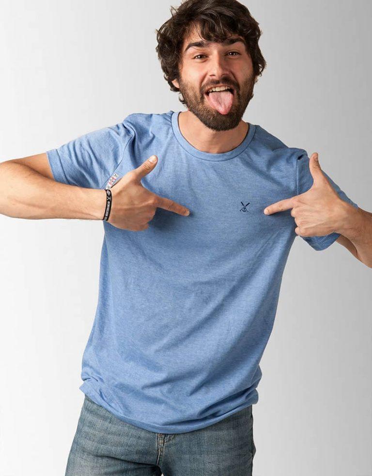 Camiseta Binibeca Azul Jaspeado