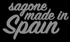 Logotipo Sagone Made in Spain